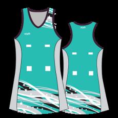 Vayda Liberty Netball A-Line-Dress