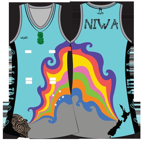 Vayda Niwa Netball A-Line Dress