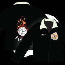 Vayda Fremantle Indoor Beach Volleyball Flames Soft Shell Jacket