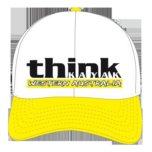 Vayda Think Kayak Trucker Cap Yellow